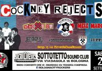 Bologna City Rockers presents… Cockney Rejects! and many more…