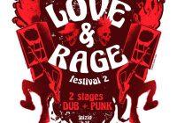 Love & Rage Fest 2nd Edition: Punk + Dub
