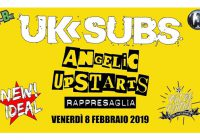 UK Subs, Angelic Upstarts, Rappresaglia Live @ New Ideal, Magenta | February 8th 2019