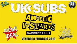 UK Subs, Angelic Upstarts e Rappreseglia   New Ideal, Magenta   8 Febbraio 2019
