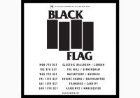 Black Flag will be in Europe next October