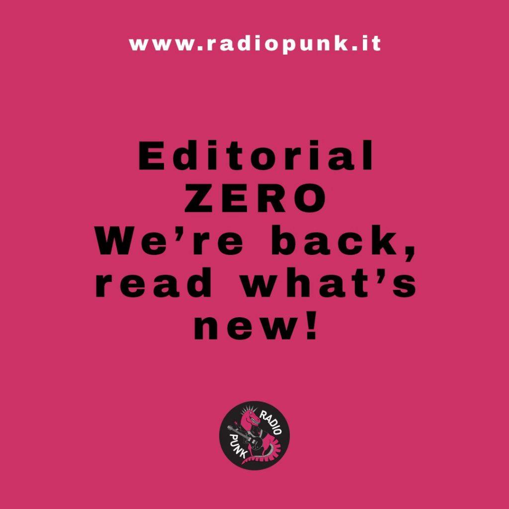 Radio Punk editorial 0 news and update