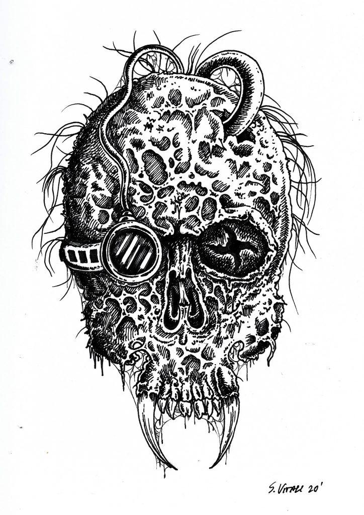 infection artwork stefano vitali uomo del futuro