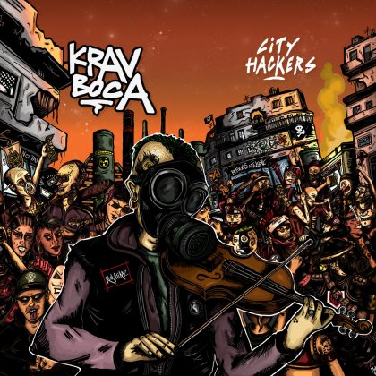krav boca city hackers album cover