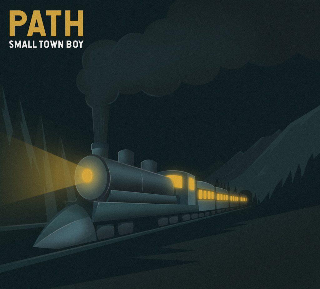 path small town boy album cover