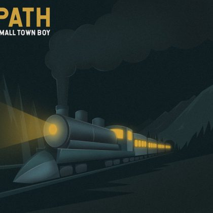 path small town boy album cover